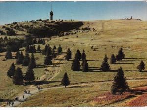 Germany Feldberg im Schwarzwald Blick Zum Fernsehturm und Bismarckdenkmal