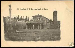 italy, Basilica di S. Lorenzo fuori le Mura (ca. 1900)