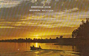End Of A Fishing Day 1973Greetings From Bronson Michigan