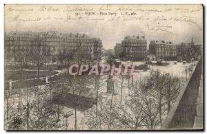 Old Postcard Dijon Place Darcy
