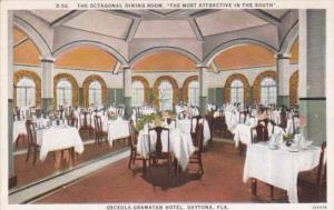 Florida Daytona Interior Octagonal Dining Room Osceola Gramatan Hotel