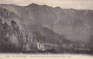 France Le Mont Dore Panorama du Sancy pris du Chemin des Cretes