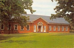 Greensboro North Carolina Guilford College Union Vintage Postcard K86524