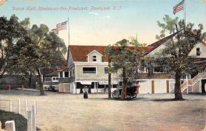 Rhodes on the Pawtuxet Rhode Island~Dance Hall~SALE: Japanese Art Goods~1912 PC