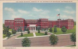New York Rochester Strong Memorial Hospital University Of Rochester 1938 Curt...