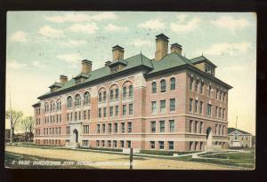 Dorchester, Massachusetts/MA/Mass Postcard, Dorchester High School, 1907!