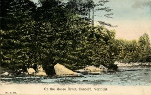 VT - Concord. On the Moose River