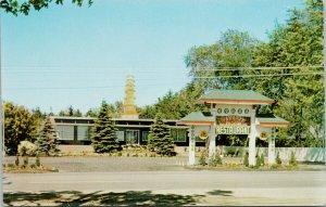 Yangtze Pagoda Restaurant Toronto Ontario Advertising Vintage Postcard F60