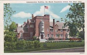 Administration Building, The Marsh Foundation School, Van Wert, Ohio, PU-1953