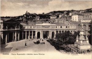 CPA GENOVA Piazza Acquaverde e stazione nuova Principe. ITALY (523522)