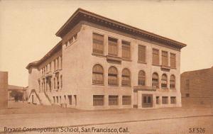 SAN FRANCISCO, California;  00-10s; Bryant Cosmopolitan School