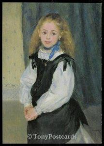 Portrait of Mademoiselle Legrand - Pierre-Augustine Renoir