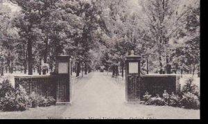 Ohio Oxford Memorial Entrance Miami University Albertype