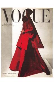 Postcard VOGUE Magazine Iconic Cover Fashion for Three Generations 1 Nov 1946