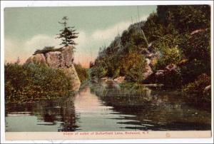 Outlet, Butterfield Lake, Redwood NY