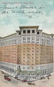 ST. PAUL, Minnesota, 1911; Saint Paul Hotel