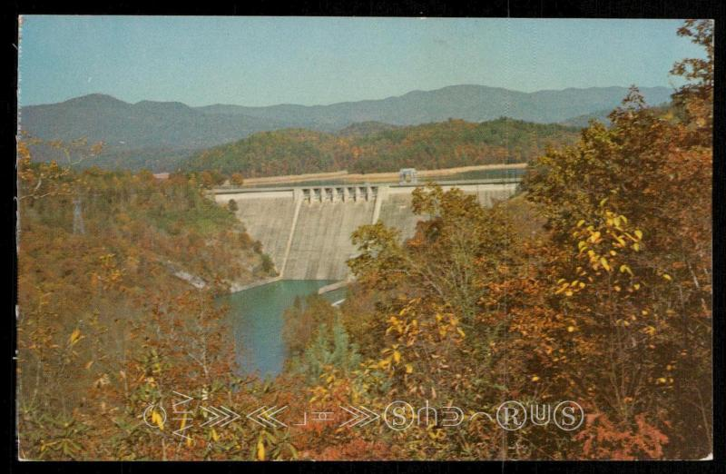 Hiwassee Dam near Murphy, North Carolina