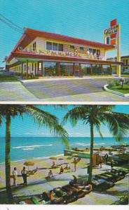Florida Miami Beach Ocean Palm Motel Collins Avenue