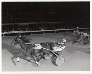 WINDSOR RACEWAY Harness Horse Race , MAIN CHOICE Winner, 1985