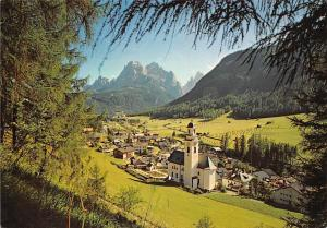 Italy Dolomiti Sexten Sesto Church Chiesa