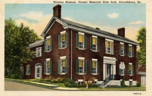 KY - Harrodsburg. Pioneer Memorial State Park, Mansion Museum