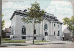OTTAWA , Ontario , Canada , 1900-10s ; Carnegie Library