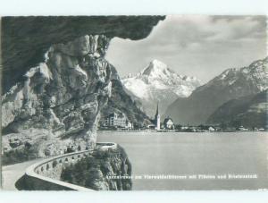 old rppc NICE VIEW Fluelen - Uri Switzerland i2004