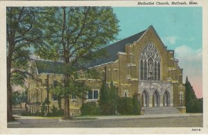 MCCOMB , Mississippi, 1910s ; Methodist Church