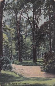 Partie Im Tiergarten, BERLIN, Germany, 1900-1910s