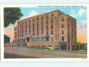 Linen COMMONS BUILDING AT ARKANSAS STATE COLLEGE Jonesboro Arkansas AR L9274