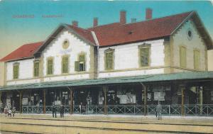 Gyékényes Gyekenyes Train Station Hungary