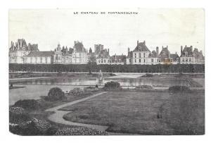 France Chateau Fontainebleau Vtg Lejeune Tailleur Postcard