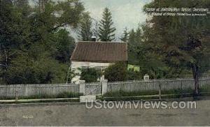 Home of Katrina Van Tassel Tarrytown NY Unused