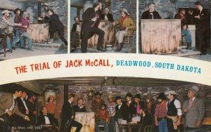 DEADWOOD , South Dakota , 1950-60s ; Trail of Jack McCall