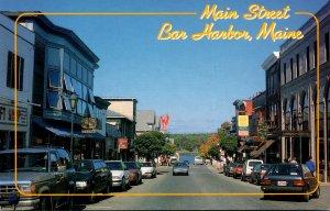 Maine Bar Horbor Main Street
