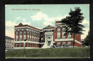 MASONIC HOME-ST. LOUIS, MO-EARLY POSTCARD