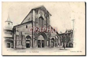 Old Postcard Chambery La Cathedrale