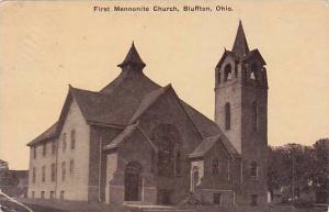 Ohio Bluffton First Mennonite Church 1914