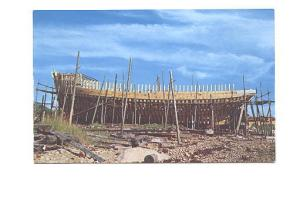 Scallop Dragger Under Construction, Shelburne, Nova Scotia,