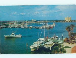 Pre-1980 HARBOR SCENE Clearwater Beach Florida FL hp7235