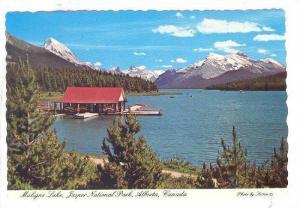 Maligne Lake, Jasper National Park, Alberta, Canada, 1950-1970s