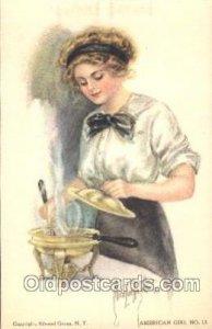 Fidler College Series No. 4 Artist Signed Alice Luella Fidler (USA) Unused