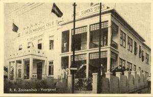 curacao, WILLEMSTAD, Roman Catholic Sailor's Home, Facade (1950s) Postcard