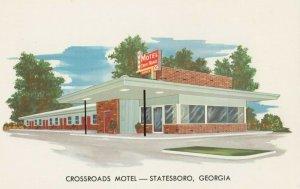 STATESBORO , Georgia , 1950-60s ; Crossroads Motel