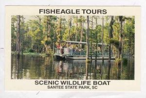 Fisheagle Tours,Wildlife Boat,Santee State Park,SC40-60