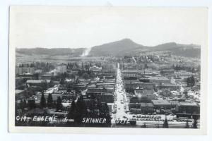 RP City View of Eugene Oregon OR from Skinner Butte
