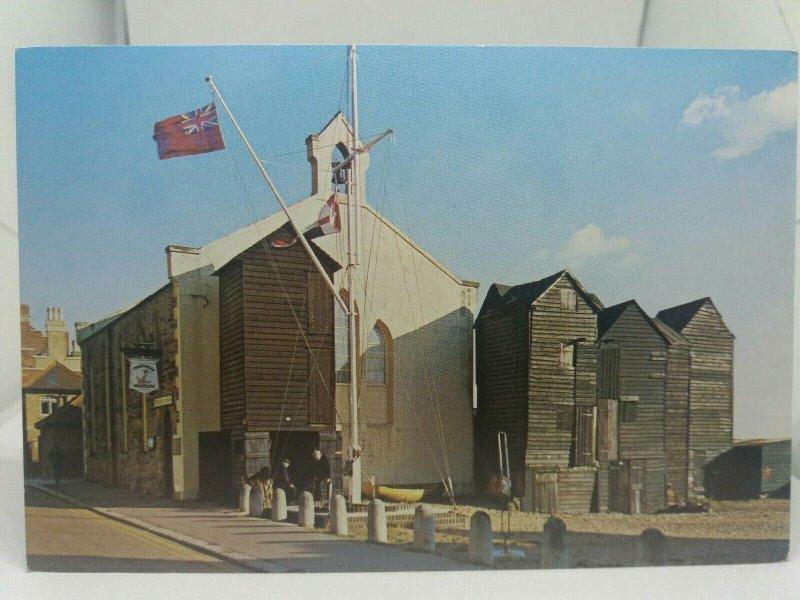 Vintage Postcard Net Shops and Fishermans Museum Hastings 1980s