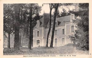 France Saint Sauveur en Puisaye Yonne Chateau de la Folie Castle