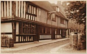 RYE SUSSEX ENGLAND-ST ANTHONY'S TUDOR HOUSE PHOTO POSTCARD