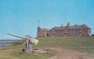 Luce Hall, Saluting Battery, Naval War College, Newport, Rhode Island 1940-60s